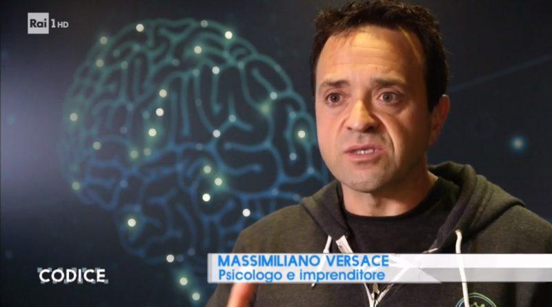 Max Versace on Rai Uno Codice – AI, drones, and more