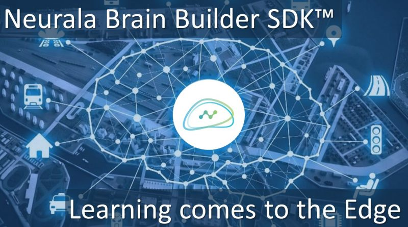 Industry 1st Deep Learning software able to learn at the Edge – upcoming release!